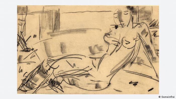Хелене фон Тауссиг. Обнаженная натурщица (1932)