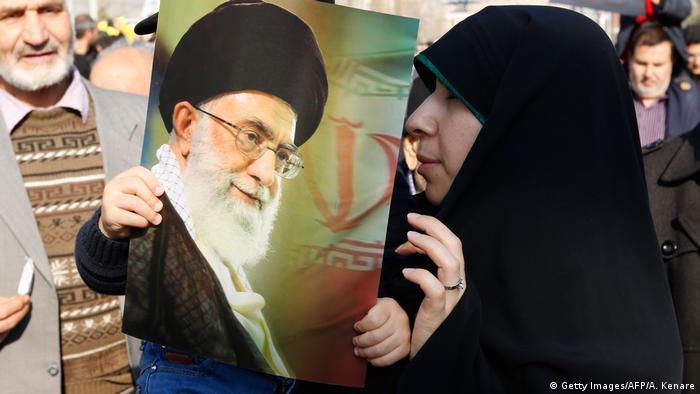 Iran regierungsfreundliche Demo in Teheran (Getty Images/AFP/A. Kenare)