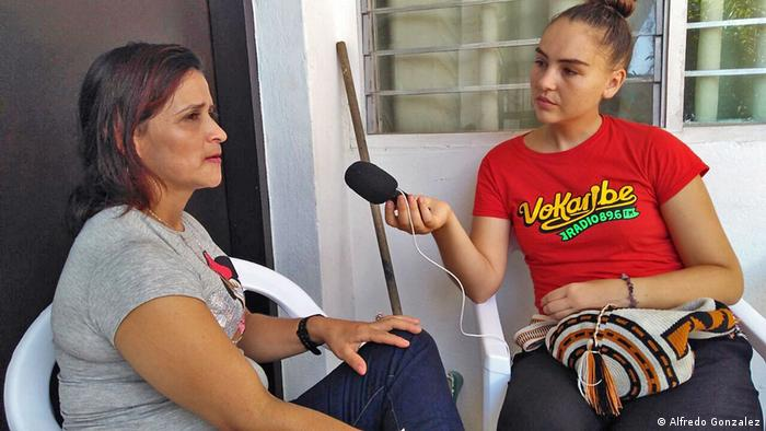 DW Akademie | Interview mit der Ex-Guerrillera Maria Angelica
