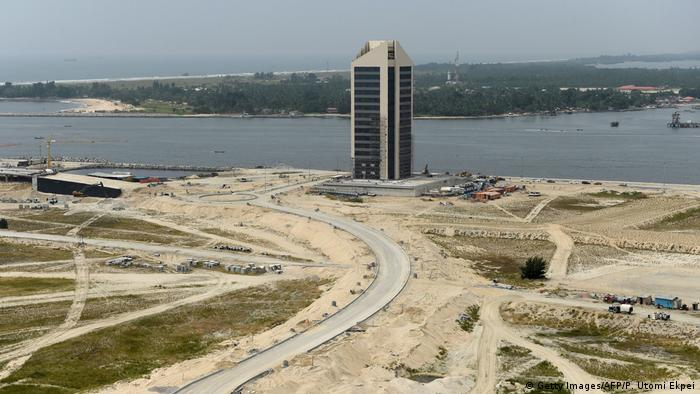 Nigeria Eko Atlantic City (Getty Images/AFP/P. Utomi Ekpei)