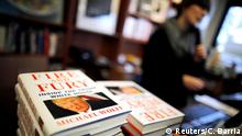 USA Washington Book table featuring Fire and Fury: Inside the Trump White House (Reuters/C. Barria)