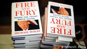 USA Washington Buch Fire and Fury: Inside the Trump White House