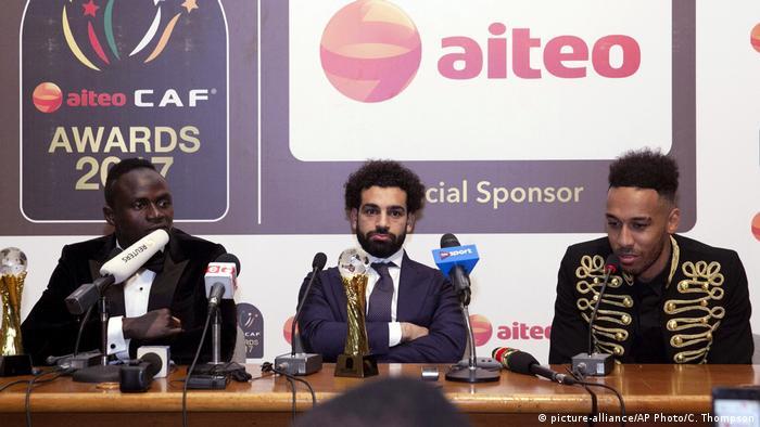 Ghana Afrikas Fußballer des Jahres (picture-alliance/AP Photo/C. Thompson)
