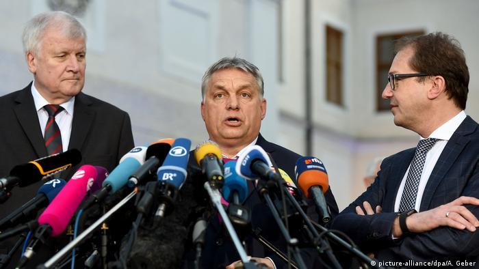 PK zu Beginn CSU-Winterklausur (picture-alliance/dpa/A. Geber)