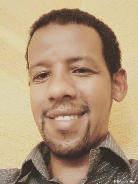 Äthiopien Ibrahim Shafi, Journalist
