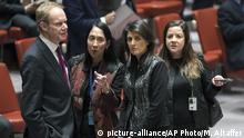 USA New York UN Sicherheitsrat Treffen zu Iran