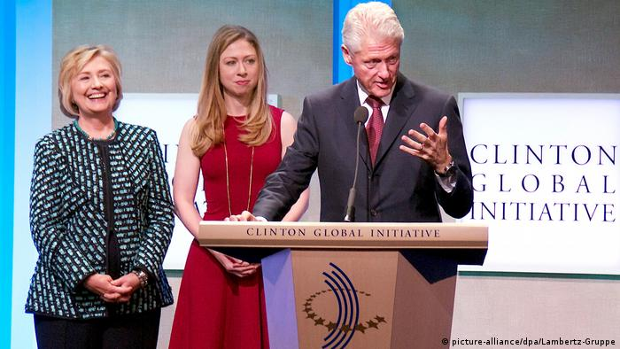 USA Bill Clinton bei der der Clinton Global Initiative in New York (picture-alliance/dpa/Lambertz-Gruppe)