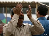 یکی از بستگان قربانیان سوءقصد انتحاری روز جمعه در کاظمین