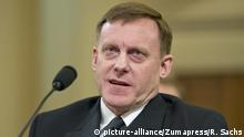 March 20, 2017 - Washington, District of Columbia, United States of America - Mike Rogers, Director of the National Security Agency gives testimony before the United States House Permanent Select Committee on Intelligence (HPSCI) on the ''Russian Active Measures Investigation'' on Capitol Hill in Washington, DC on Monday, March 20, 2017..Credit: Ron Sachs / CNP |