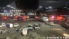 Kanada Flugzeugzusammenstoß am Pearson Airport in Toronto