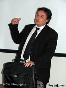 Experte Andre Lorsch (Foto: DW)