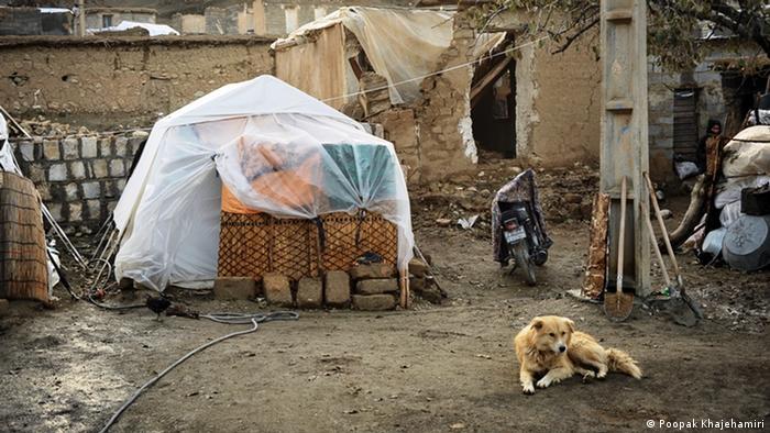 Iran 50 Tagen nach dem Erdbeben in Kermanshah (Poopak Khajehamiri)