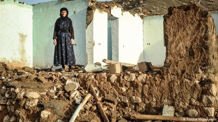 وضعیت نابسامان زلزلهزدگان کرمانشاه