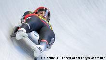 Rodeln Weltcup   Rennrodlerin Natalie Geisenberger