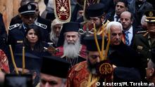 Israel Besuch des Patriarchs Theophilos III