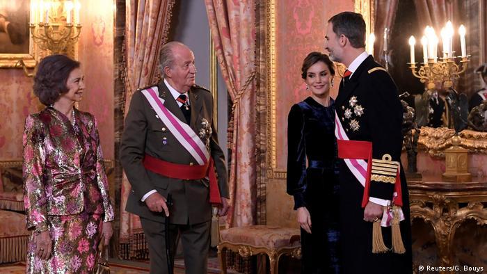 Spanien   Heilige-Drei-Könige-Empfang am spanischen Königshof