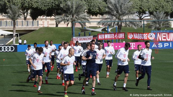 Katar Trainingslager Bayern München