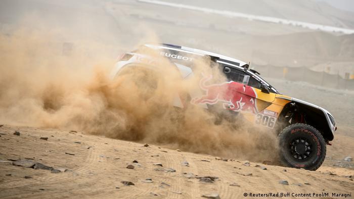 Peru Rally Dakar Sebastien Loeb