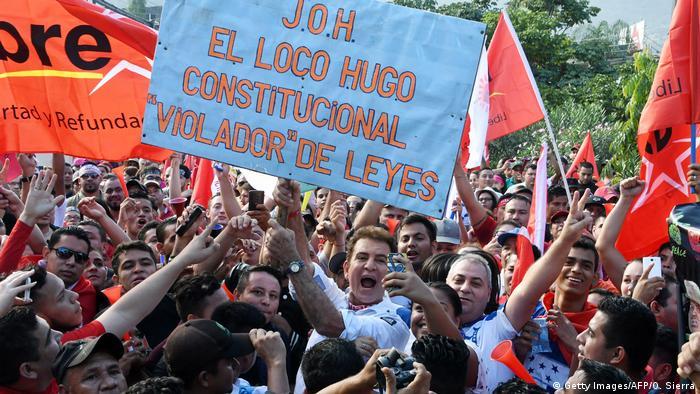 Honduras Proteste (Getty Images/AFP/O. Sierra)