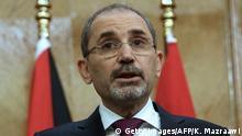 Jordanien Treffen von Außenministern von sechs arabischen Staaten in Amman   Ayman Safadi