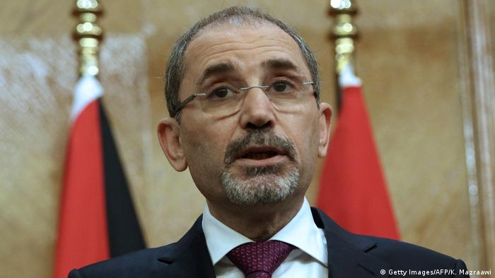 Jordanian Foreign Minister Ayman Safadi (Getty Images/AFP/K. Mazraawi)