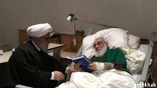 Deutschland Hannover - Mahmud Hashemi Shahrudi im Krankenhaus