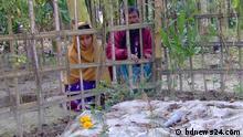 Bangladesch - Eltern von Felani Khatun die beim Versuch die Indo-Bangladesch Grenze zu überqueren von Grenztruppen erschossen wurde