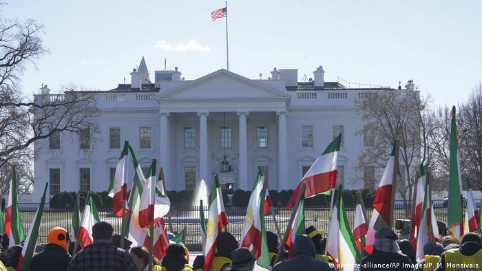 USA Washington - Iran Proteste (picture-alliance/AP Images/P. M. Monsivais)