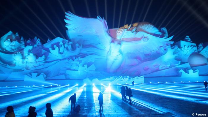 China | Eisfestival in Harbin (Reuters)