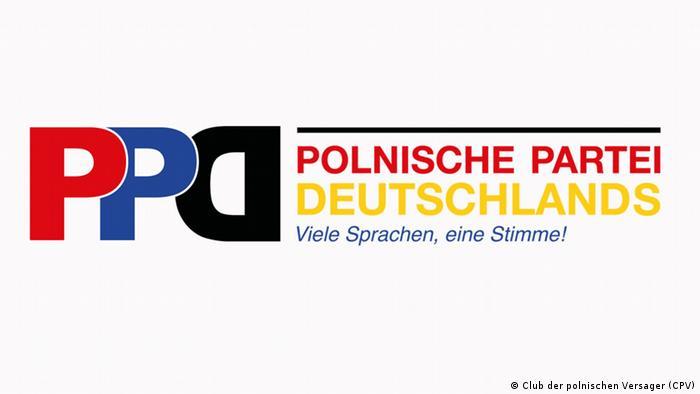Logo powstającej Polskiej Partii Niemiec