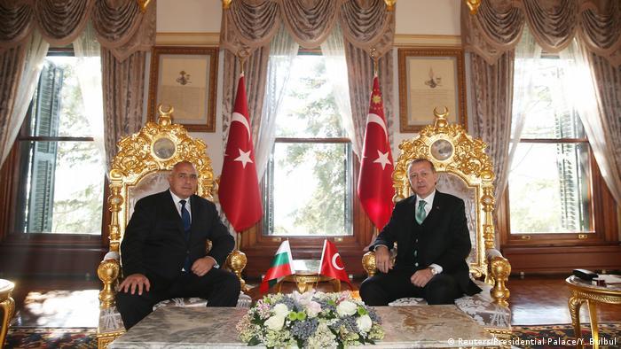 Борисов с Ердоган в Истанбул
