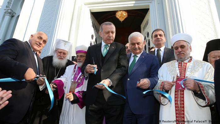 Türkei Neueröffnung der Bulgarisch-Orthodoxe St. Steffan-Kirche