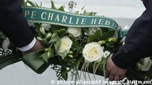 Frankreich | Gedenken an die Opfer von Charlie Hebdo