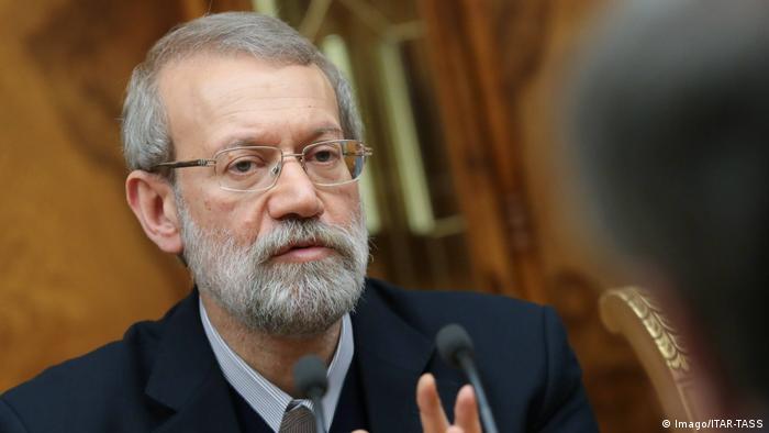 Russland iranischer Parlamentspräsident Ali Larijani beim Internationalen Konferenz der Gesetzgeber gegen Drogen