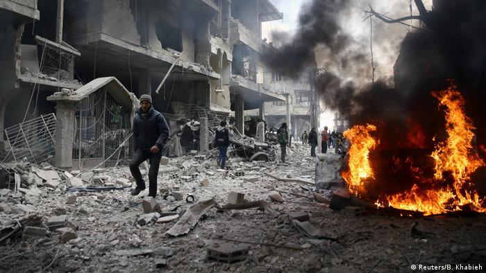 Syrien Hamoria (Reuters/B. Khabieh)