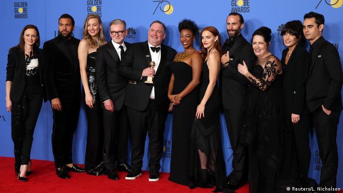 USA Golden Globes 2018 | Crew von The Handmaid's Tale (Reuters/L. Nicholson)