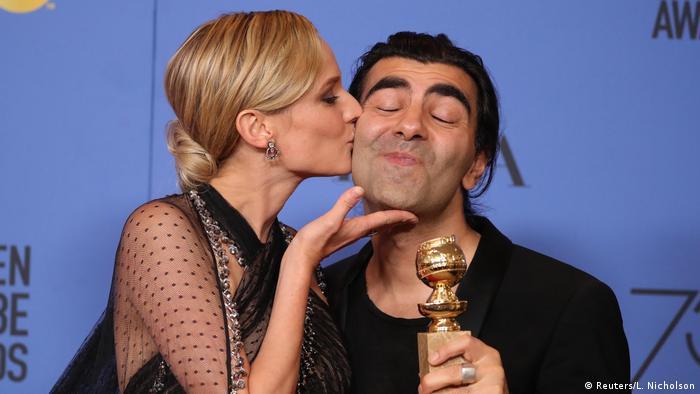 USA Golden Globes 2018 | Diane Kruger und Fatih Akin (Reuters/L. Nicholson)