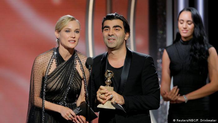 USA Golden Globes 2018 | Diane Kruger und Fatih Akin (Reuters/NBC/P. Drinkwater)