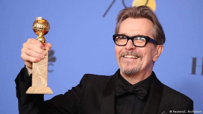 Gary Oldman at the USA Golden Globes 2018 (Reuters/L. Nicholson)