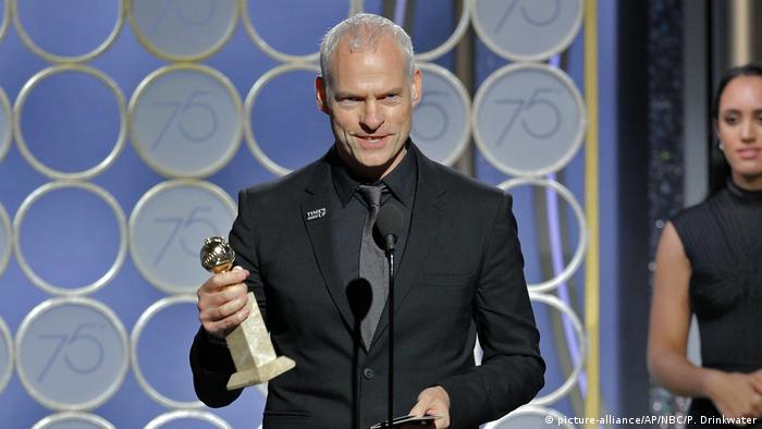 Martin McDonagh at the 75th Annual Golden Globe Awards (picture-alliance/AP/NBC/P. Drinkwater)