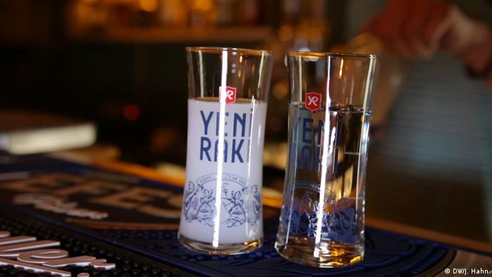 Чаша турска ракия