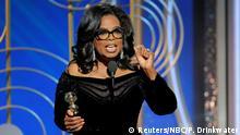 Golden Globes 2018 Oprah Winfrey Rede