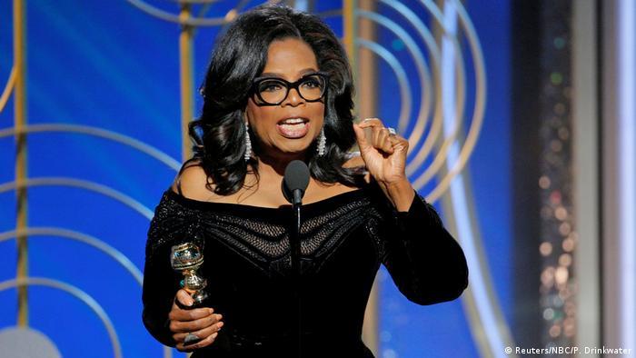Golden Globes 2018 Oprah Winfrey Rede (Reuters/NBC/P. Drinkwater)
