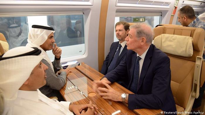 Saudi-Arabien Hochgeschwindigkeitszug Haramain Express (Reuters/Saudi Press Agency)