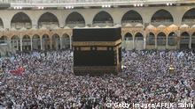Saudi-Arabien Moslem-Pilger in Mekka