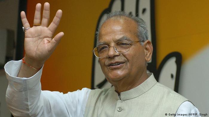 Indien Politiker Sukhram (Sukh Ram) (Getty Images /AFP/P. Singh)