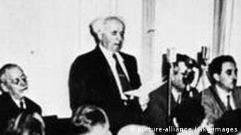 Staatsgruendung Israels 14.5.1948