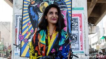Pakistan Lahore Künstlerin Shehzil Malik