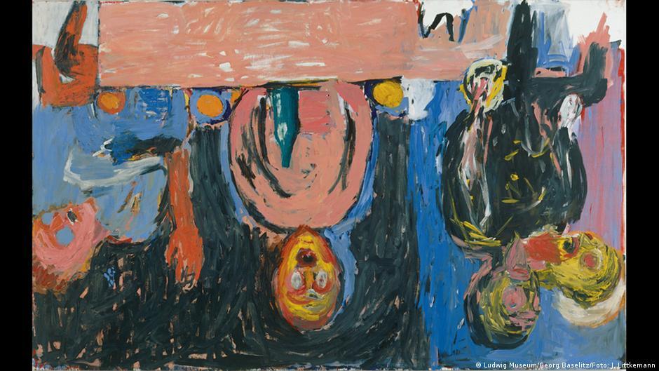 Der Die Kunstszene Auf Den Kopf Stellte Georg Baselitz Wird 80