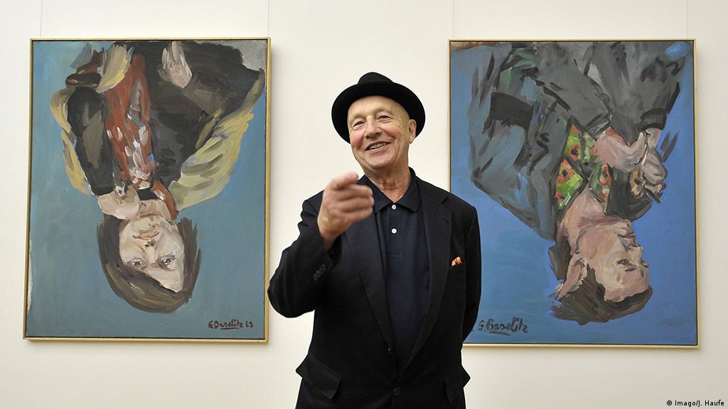 Georg Baselitz Upside Down Artist Of International Renown At 80 Arts Dw 23 01 2018